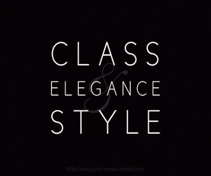 elegance, style, and class image