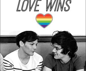 smile, love wins, and louis tomlinson image