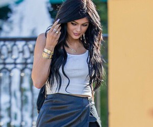 kylie jenner, jenner, and hair image