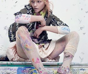 drawings, fashion, and pastels image