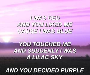 blue, couple, and lilac image