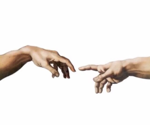 hands, transparent, and overlay image