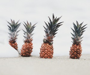 yellow, love, and pineapples image