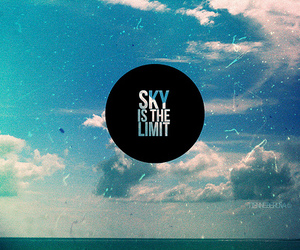 inspiration, quote, and sky image