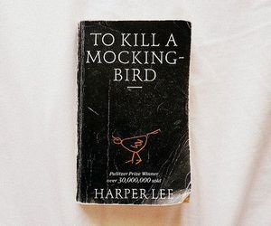 book, to kill a mockingbird, and vintage image