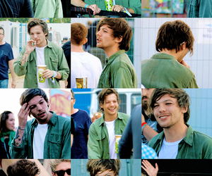 louis tomlinson, one direction, and green image