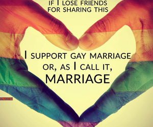 gay and marriage image