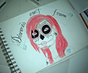 bmth, diamonds, and draw image