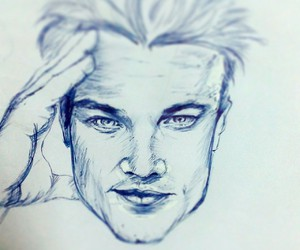 Leo, pen, and wolfofwallstreet image