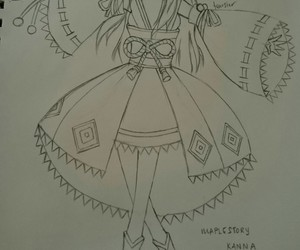 art, draw, and maplestory image
