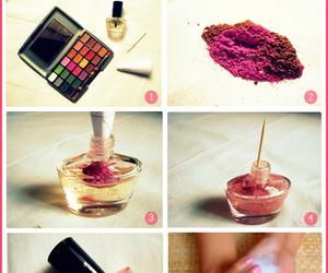diy, make up, and nails image