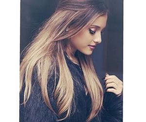 ariana grande, ariana, and hair image