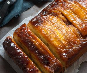 banana bread, breakfast, and cake image