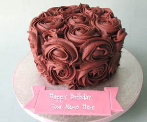 birthday cakes, flower cakes, and happy birthday cakes image