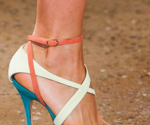heels, summer, and high image