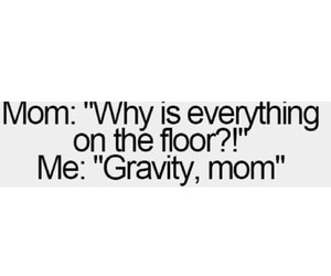 funny, gravity, and love image