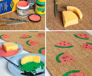 diy, watermelon, and crafts image
