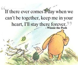 forever, pooh, and quote image