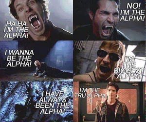 teen wolf, alpha, and scott image