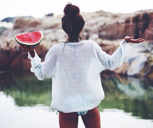 fit, watermelon, and beutyful image