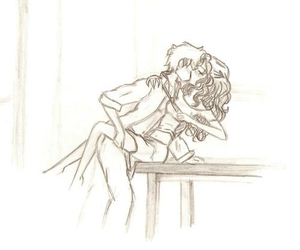 draco malfoy and hermione granger image