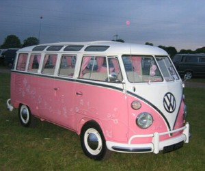 pink, car, and bus image