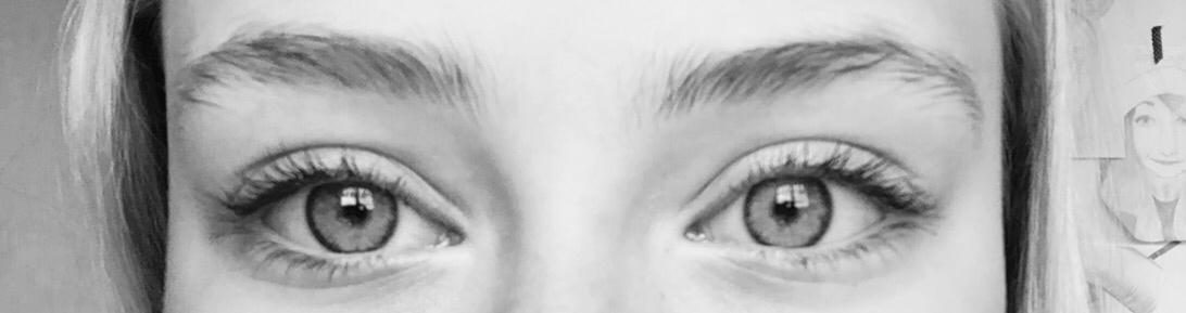 eye, eyes, and eyes black and white image