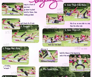 workout, fitness, and thighs image
