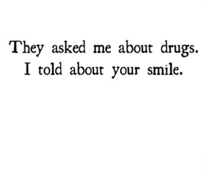 quote, drugs, and him image