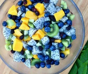 food, healthy food, and blue berry image