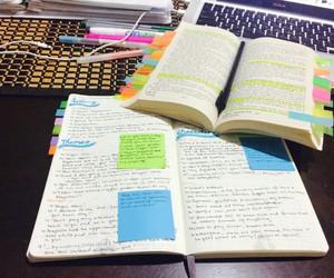 books, studying, and exam image