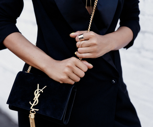 chic, girl, and style image