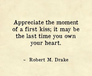 heart, kiss, and quote image
