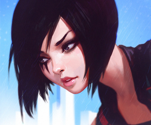 girl, art, and mirror's edge image