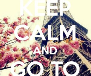 calm, keep, and travel image