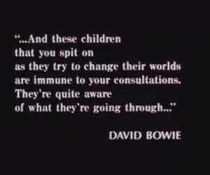 quote, david bowie, and The Breakfast Club image