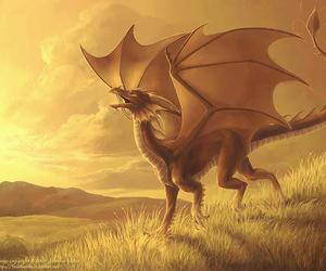 dragon and yellow image