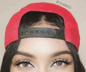 cap, eyes, and eyebrows image
