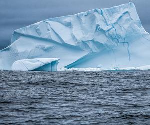 blue and iceberg image