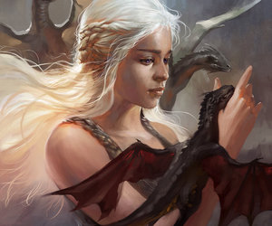 art, daenerys, and drawing image