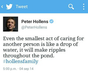 quotes and peter hollens image