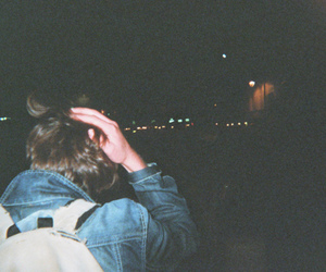 boy, indie, and night image