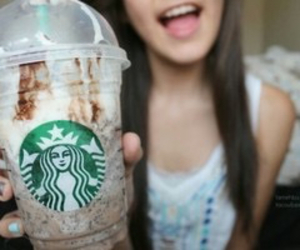 starbucks, tumblr, and girl image