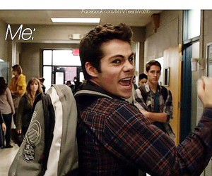teen wolf, tomorrow, and stiles image