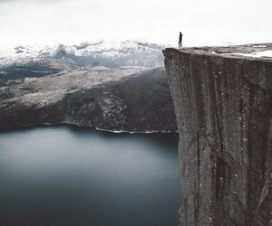 cliff and nature image