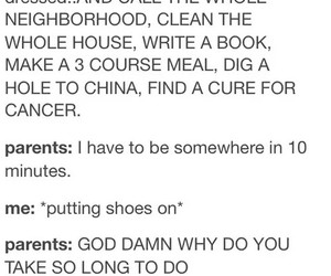 parents, funny, and so true image