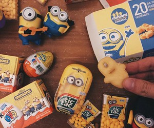 minions and food image