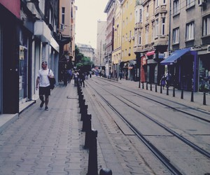 city, street, and town image