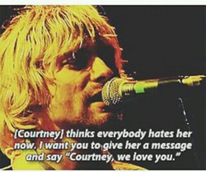 concert, Courtney Love, and grunge image