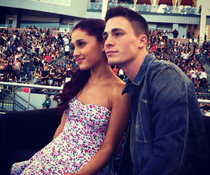ariana grande, colton haynes, and teen wolf image